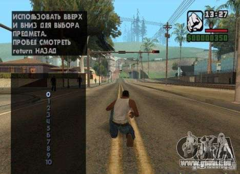 Verkehrsmanagement für GTA San Andreas