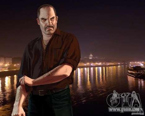 Écran de démarrage de la Russie en Amérique pour GTA 4 troisième écran