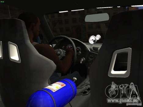 Mazda RX 7 Veil Side für GTA San Andreas Rückansicht