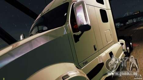 Kenworth T700 2010 Final pour GTA 4 Vue arrière