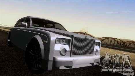 Rolls Royce Phantom Hamann pour GTA San Andreas