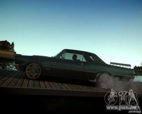 Pontiac GTO DF pour GTA 4 vue de dessus
