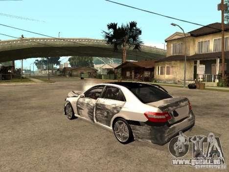 Mercedes-Bens e63 AMG für GTA San Andreas Innenansicht
