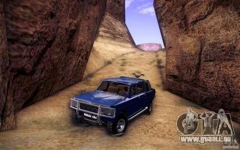 GAZ 2402 4 x 4 PickUp für GTA San Andreas Räder