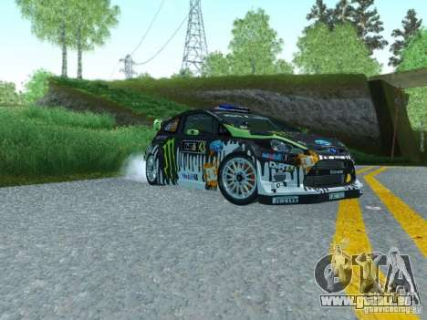 Ford Fiesta Ken Block Dirt 3 pour GTA San Andreas