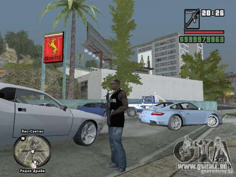 50 Cent-Tank-top für GTA San Andreas fünften Screenshot