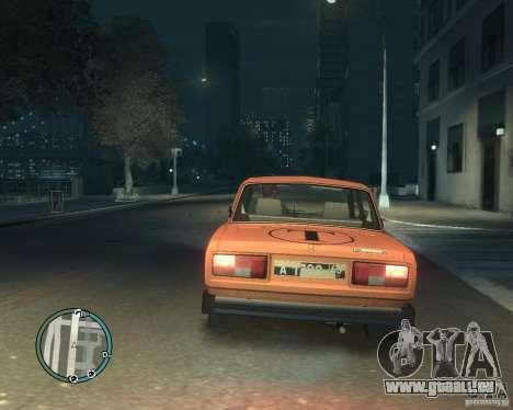 VAZ 2105 Taxi pour GTA 4 est une gauche