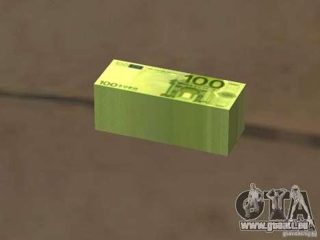 Euro money mod v 1.5 100 euros I für GTA San Andreas