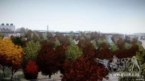 Realistic trees 1.2 für GTA 4 fünften Screenshot