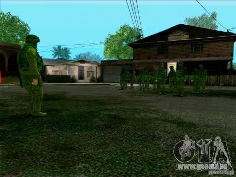 Camouflage forêt Morpeh pour GTA San Andreas cinquième écran