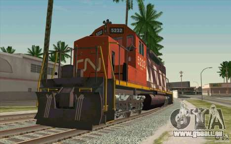 CN SD40 ZEBRA STRIPES für GTA San Andreas