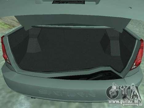Saturn Ion Quad Coupe 2004 pour GTA San Andreas vue arrière