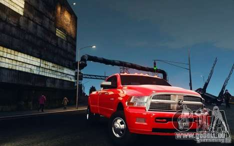 Dodge Ram 3500 Stock Final für GTA 4 Innenansicht