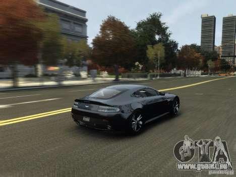 Aston Martin V12 Vantage 2010 V.2.0 pour GTA 4 est un côté