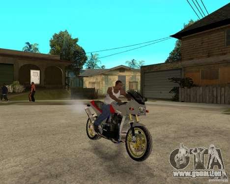 Kawasaki Ninja Tuning pour GTA San Andreas vue de droite
