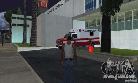 Trousses de premiers soins pour GTA San Andreas