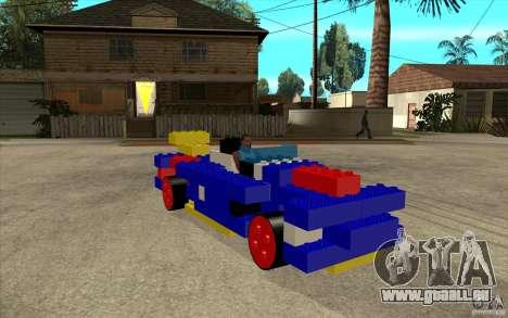 LEGO-mobile für GTA San Andreas Rückansicht