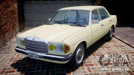 Mercedes-Benz 230E 1976 pour GTA 4