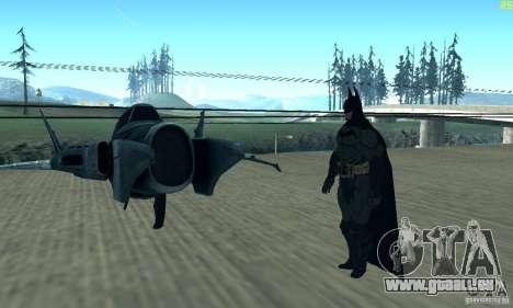 BatWing für GTA San Andreas Rückansicht