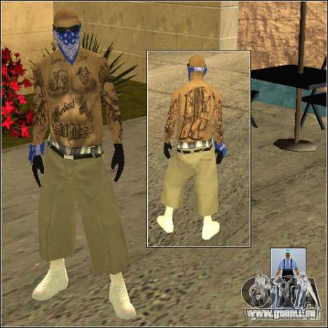 Skin Pack Getto pour GTA San Andreas