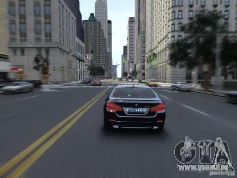 BMW 550i F10 für GTA 4 rechte Ansicht