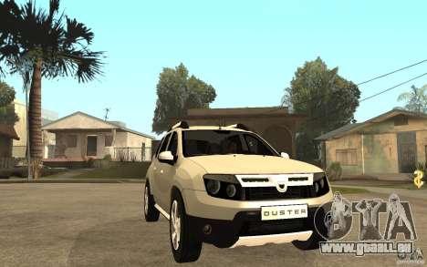 Dacia Duster 2010 SUV 4x4 pour GTA San Andreas vue arrière
