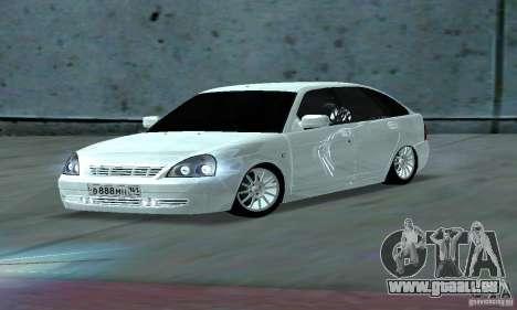 Lada Priora Rostov pour GTA San Andreas laissé vue