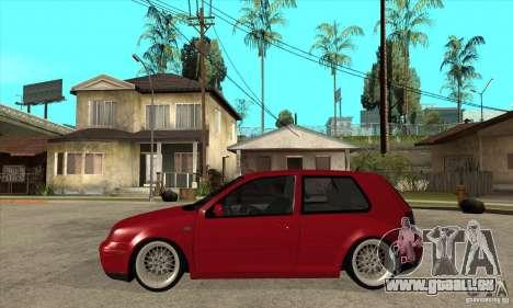 VW Golf 4 V6 Bolf pour GTA San Andreas laissé vue