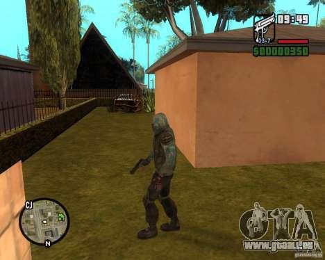 Ciel clair Stalker de pour GTA San Andreas deuxième écran