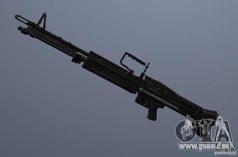 M60 pour GTA San Andreas quatrième écran
