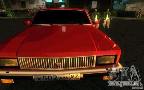 GAZ Limousine de Volga 3102 pour GTA San Andreas vue de droite