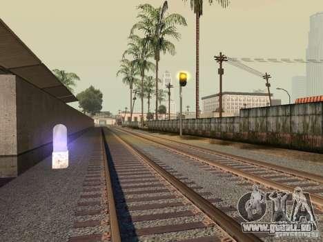 Feux de signalisation ferroviaire pour GTA San Andreas