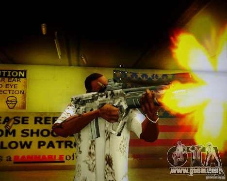 Tavor Tar-21 Digital für GTA San Andreas