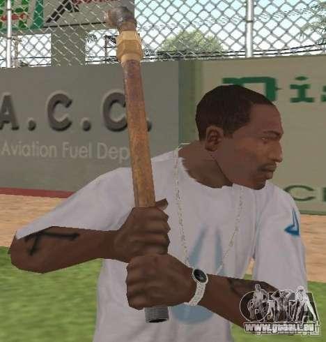 Trompette pour GTA San Andreas troisième écran