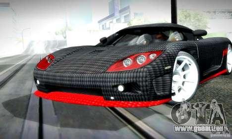 Koenigsegg CCX für GTA San Andreas linke Ansicht