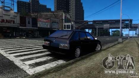 VAZ 2109 Drift Turbo für GTA 4 hinten links Ansicht