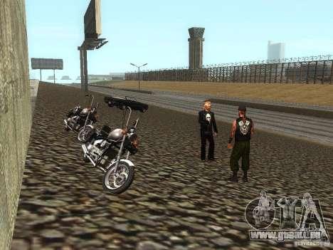 Die realistische Schule Biker v1. 0 für GTA San Andreas