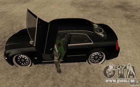 Chrysler 300C DUB pour GTA San Andreas laissé vue
