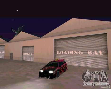 Stratum Tuned Taxi für GTA San Andreas linke Ansicht