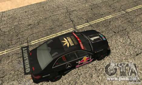 Mercedes-Benz E63 AMG DTM 2011 für GTA San Andreas linke Ansicht