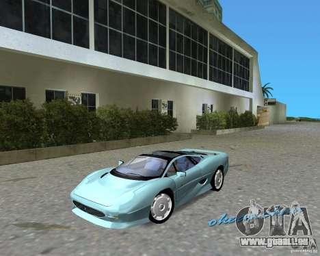 Jaguar XJ220 für GTA Vice City