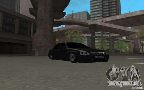 LADA Priora Licht v. 2 tuning für GTA San Andreas linke Ansicht