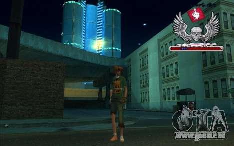 HD box-Bum pour GTA San Andreas troisième écran