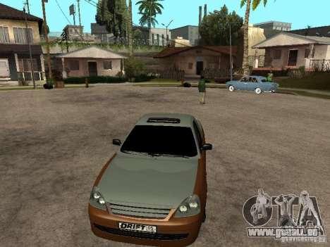 LADA 2170 Pickup für GTA San Andreas zurück linke Ansicht