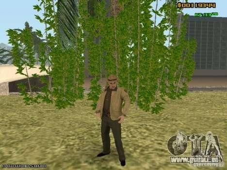 SAPD skins pour GTA San Andreas sixième écran