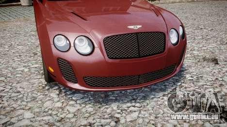 Bentley Continental SS v2.1 für GTA 4 Seitenansicht