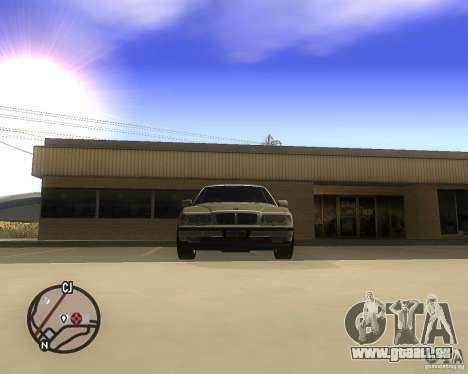 BMW 750il Limuzin für GTA San Andreas rechten Ansicht