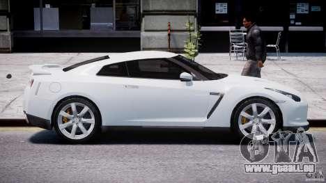 Nissan Skyline GT-R R35 für GTA 4 Innenansicht