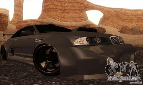 BMW M3 für GTA San Andreas Rückansicht