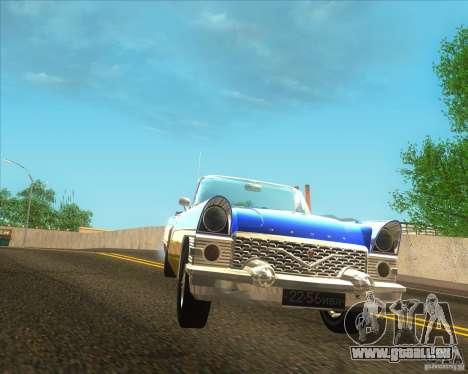 Tschaika GAZ 13 b für GTA San Andreas zurück linke Ansicht